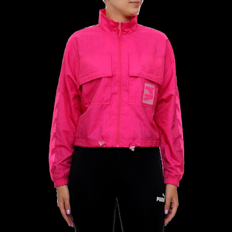 Ženski duks Puma Evide Track Jacket Woven